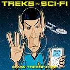 Treks in Sci Fi logo