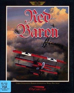 Red Baron (1990) box art