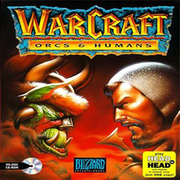 Warcraft 1 box art