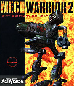 Mechwarrior 2 box art