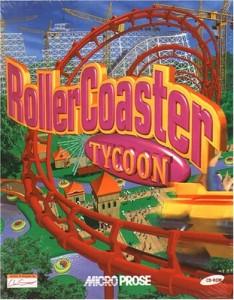 Rollercoaster Tycoon box art