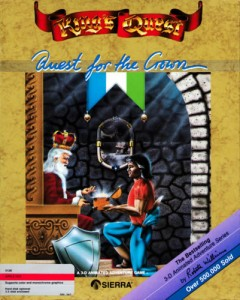 Kings Quest 1 box art