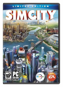 SimCity 2013 boxart