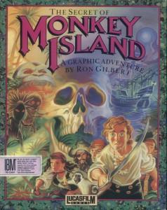 monkey island boxart