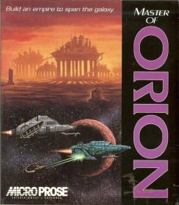 Master of Orion box art