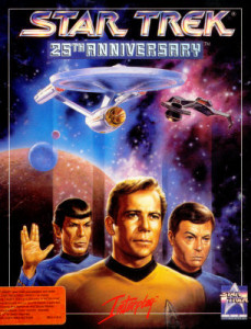 star trek 25th anniversary box art