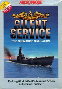Silent Service box art