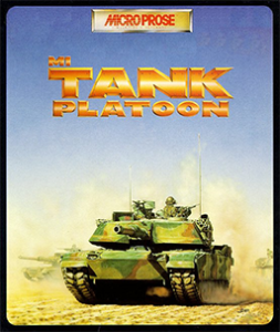M1 Tank Platoon box art