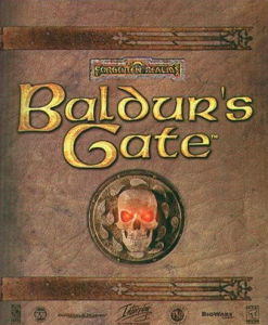 baldurs gate box art